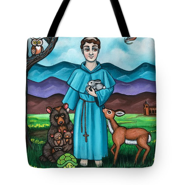 I Am Francis Tote Bag