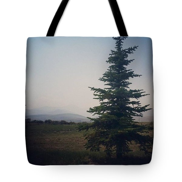 Montana Smoke Tote Bag