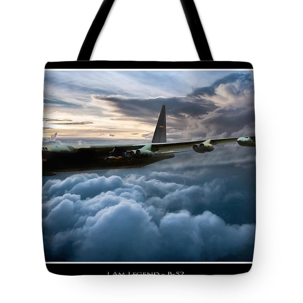 I Am Legend B-52 V2 Tote Bag by Peter Chilelli