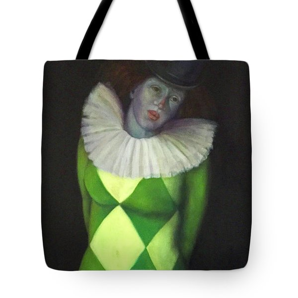 Tote Bag featuring the painting I Am by Marlene Book