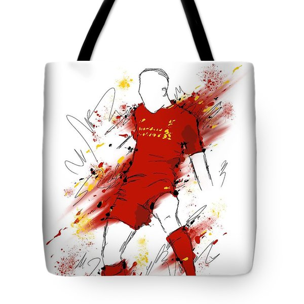 I Am Red #2 Tote Bag