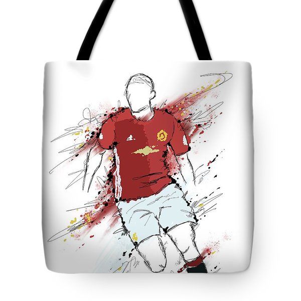 I Am Red And Black Tote Bag