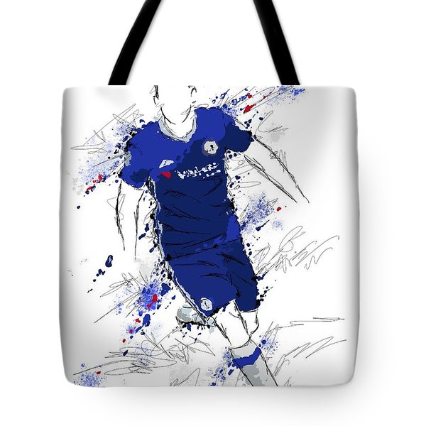 I Am Royal Blue Tote Bag