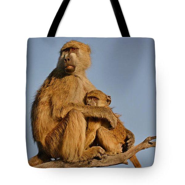 I Am So Scared Mama Tote Bag
