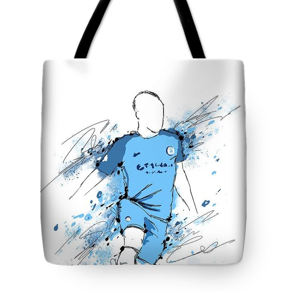 I Am Sky Blue #2 Tote Bag