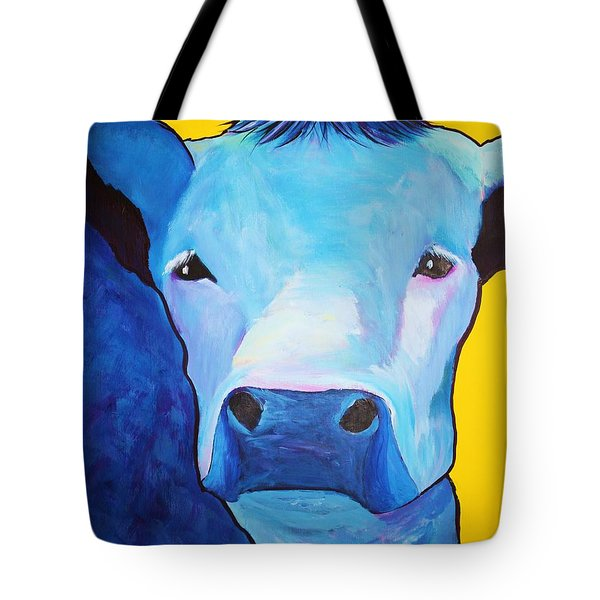 I Am So Blue Tote Bag