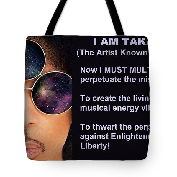 I Am Takapri Tote Bag