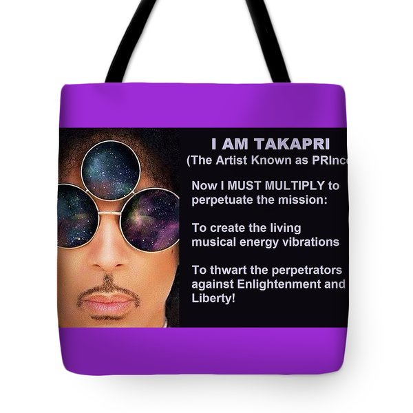 I Am Takapri Tote Bag