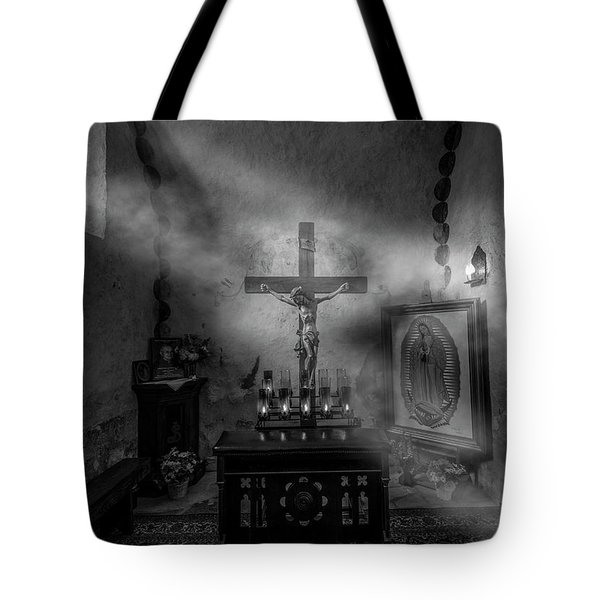 Tote Bag featuring the photograph I Am The Light Of The World by David Morefield