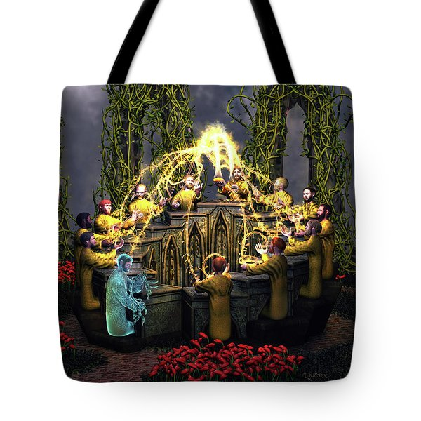 I Am The Vine - You Are The Branches Tote Bag