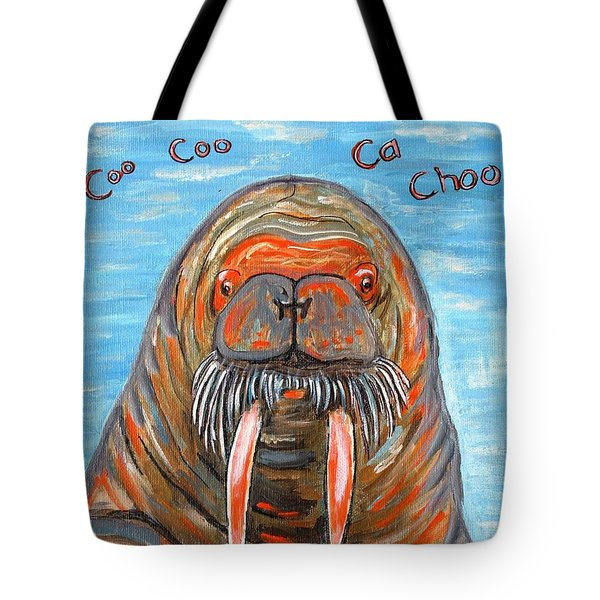 I Am The Walrus Tote Bag