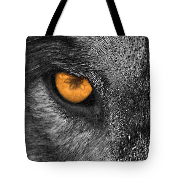 I Am Wolf Tote Bag