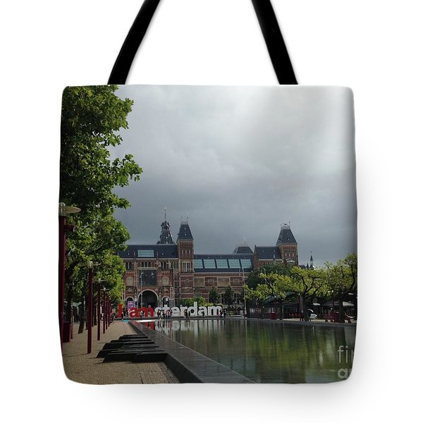 I Amsterdam Tote Bag by Therese Alcorn