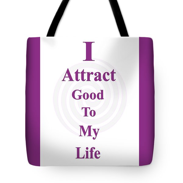 I Attract Tote Bag