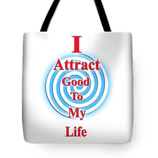 I Attract Red White Blue Tote Bag
