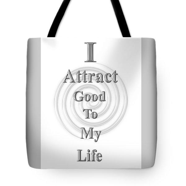 I Attract Silver Tote Bag