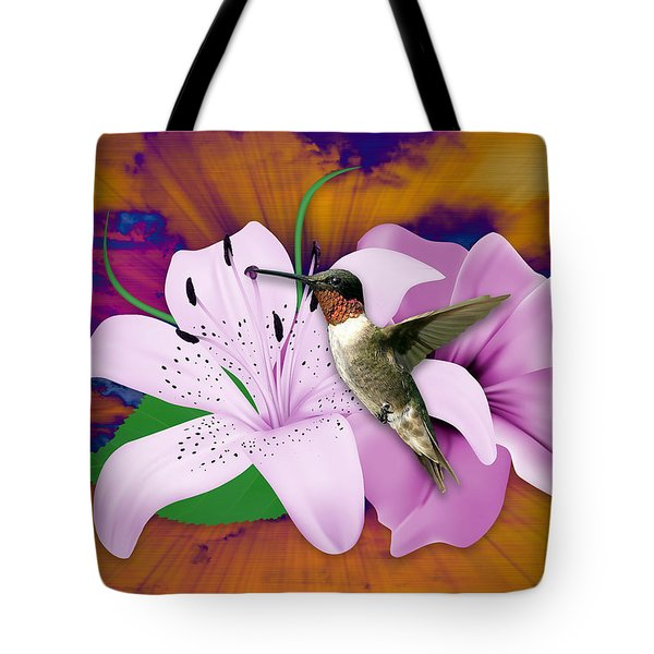 Tote Bag featuring the mixed media I Believe I Can Fly by Marvin Blaine