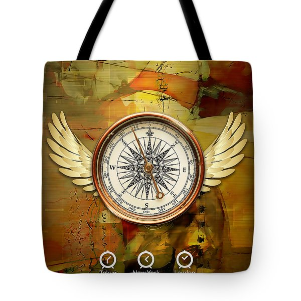 Tote Bag featuring the mixed media I Believe I Can Soar by Marvin Blaine