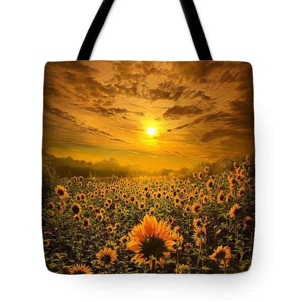 I Believe In New Beginnings Tote Bag