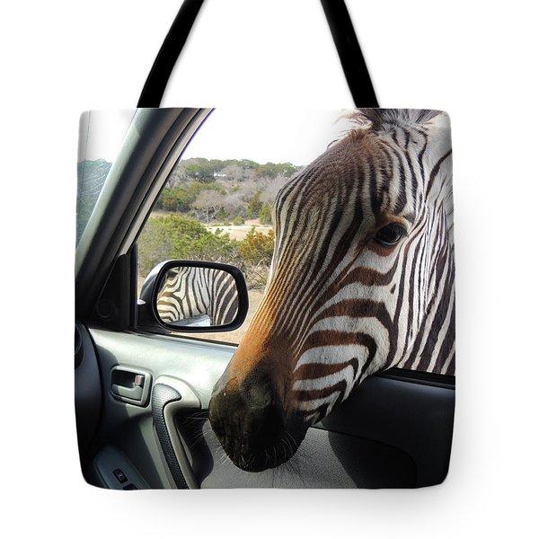 I Brake For Wildlife Tote Bag