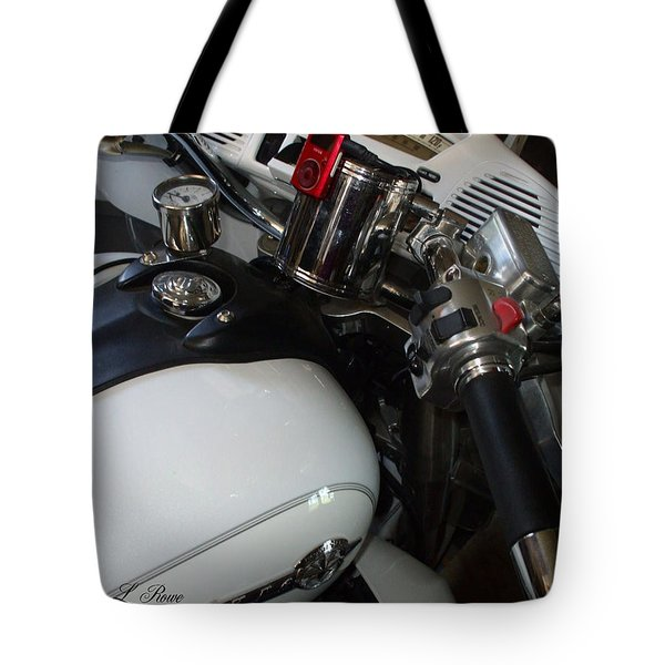 Tote Bag featuring the photograph I Can Handle It by Shana Rowe Jackson