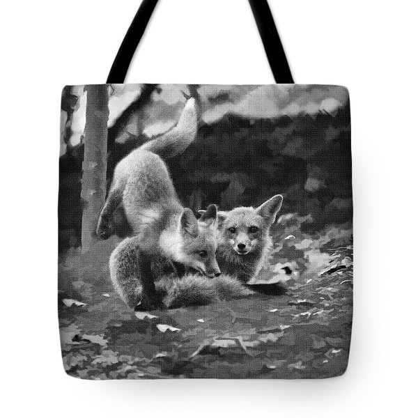 I Can Jump Over You Tote Bag