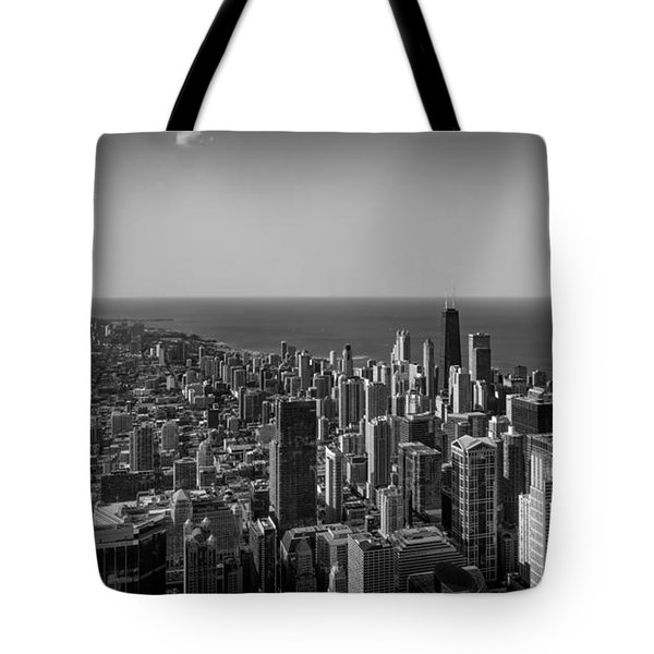 Tote Bag featuring the photograph I Can See For Miles And Miles by Howard Salmon
