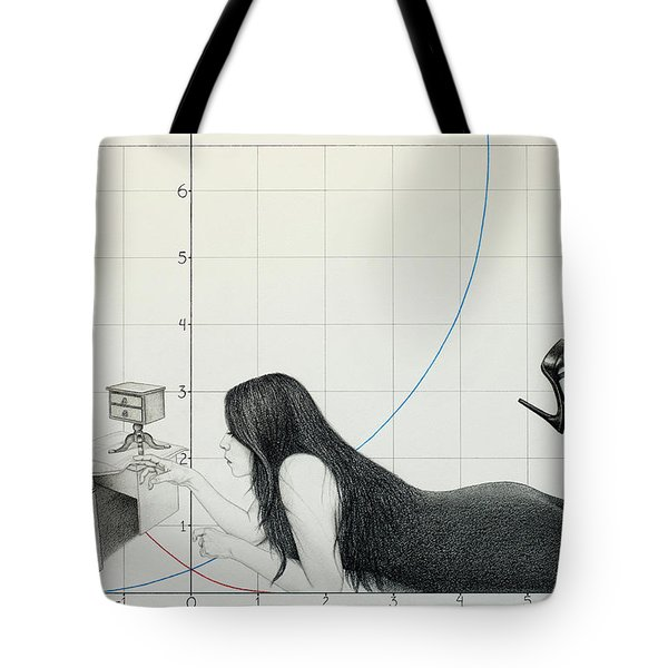 I Cannot Be Less Than Who I Am Tote Bag