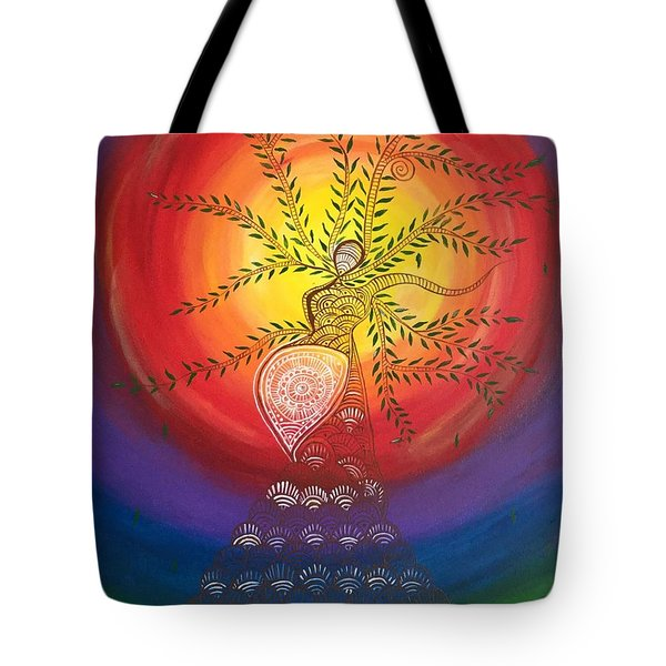 I Carry The Universe In Me Tote Bag