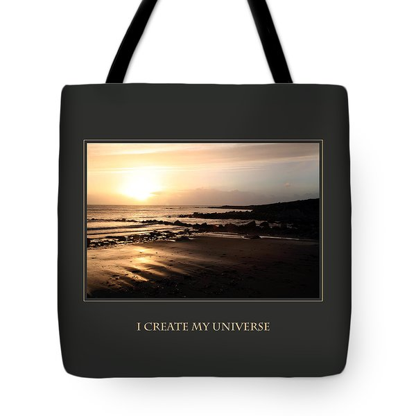 I Create My Universe Tote Bag by Donna Corless
