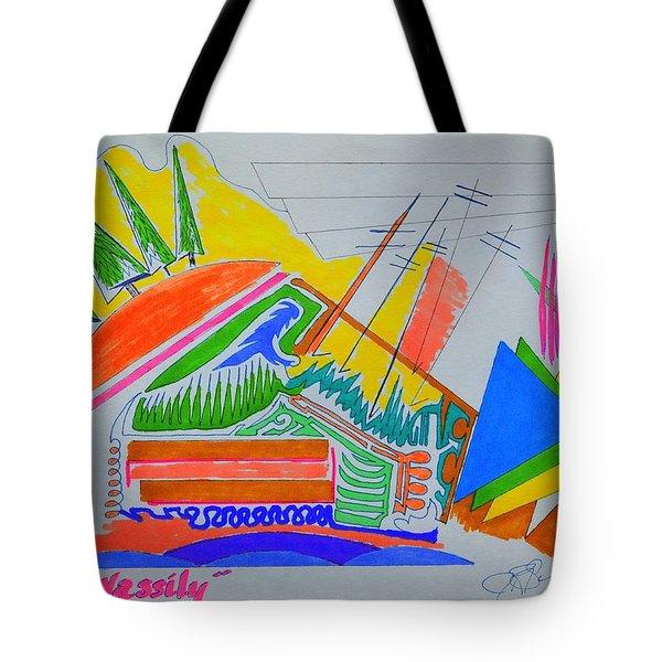 I Dig Vassily Tote Bag