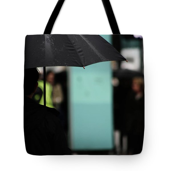 Tote Bag featuring the photograph I Dont Want To Walk Away  by Empty Wall