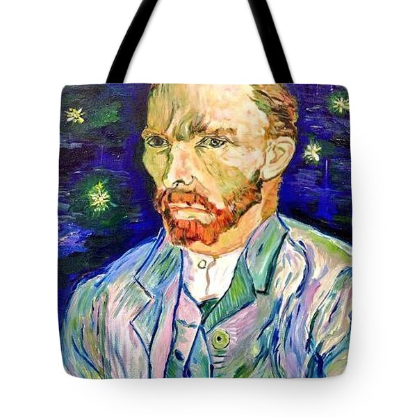 Tote Bag featuring the painting I Dream My Painting And I Paint My Dream by Belinda Low