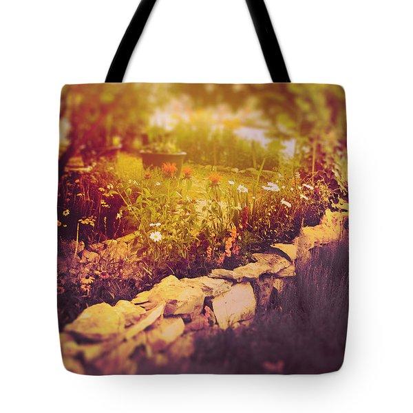 I Dreamed Of Monet's Garden Tote Bag