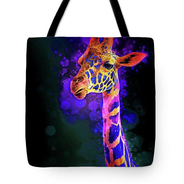 I Dreamt A Giraffe Tote Bag