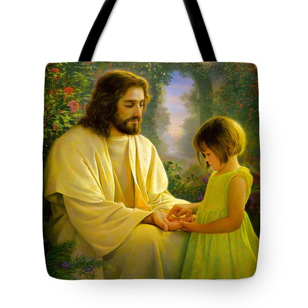 I Feel My Savior's Love Tote Bag