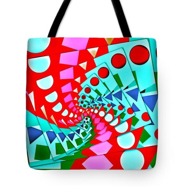 Tote Bag featuring the digital art I Fell Way Too Deep II by Aurelio Zucco
