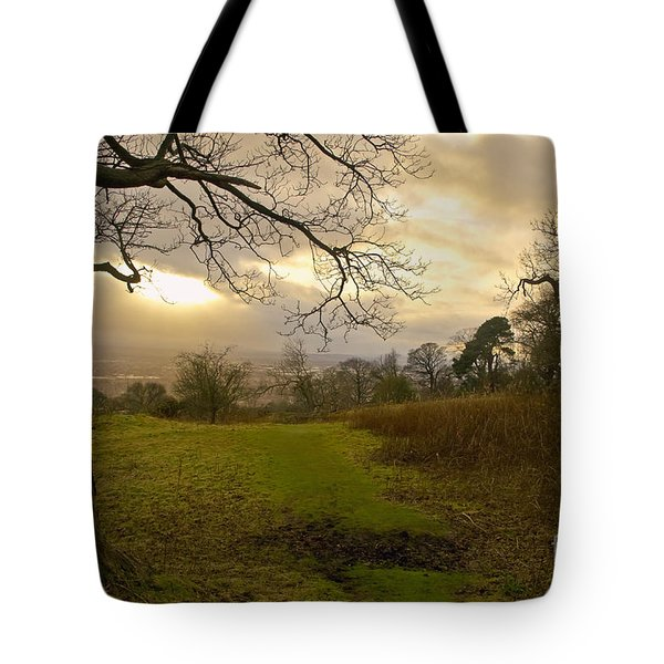 I Follow The Sunset. Tote Bag