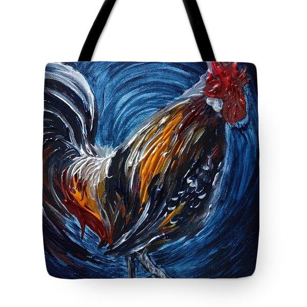 I Gayu Guam Rooster Tote Bag