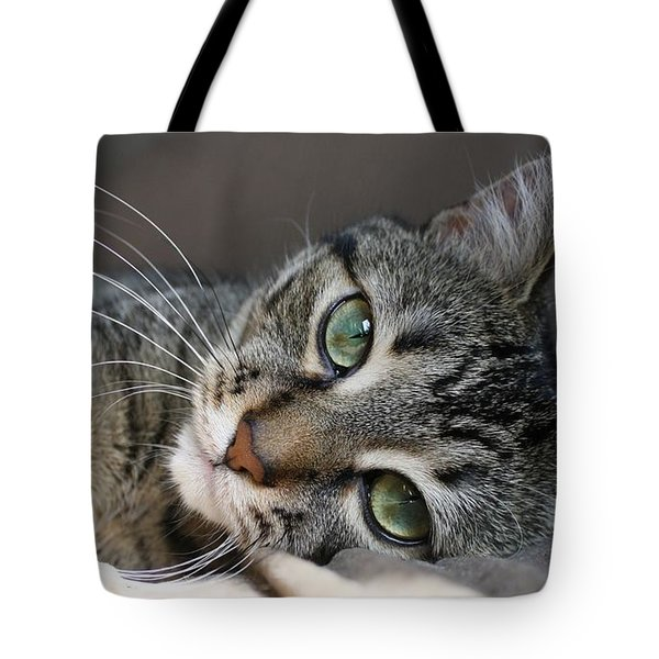 I Get Lost In Your Eyes Tote Bag by Heather King