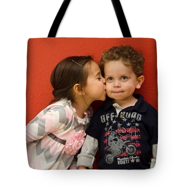I Give You A Kiss Tote Bag