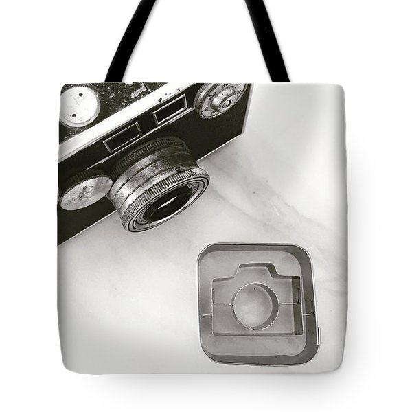Camera Cookie Cutter  Tote Bag