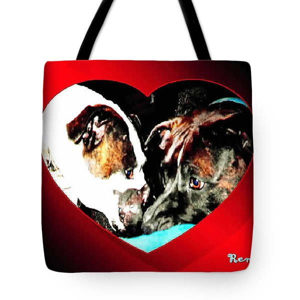 I Got You Babe Tote Bag by Sadie Reneau
