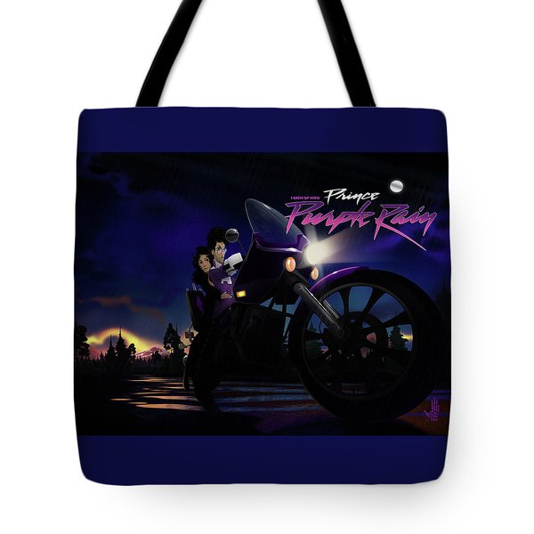 I Grew Up With Purplerain 2 Tote Bag