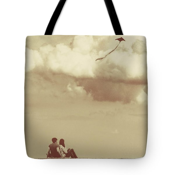 I Had A Dream I Could Fly From The Highest Swing Tote Bag