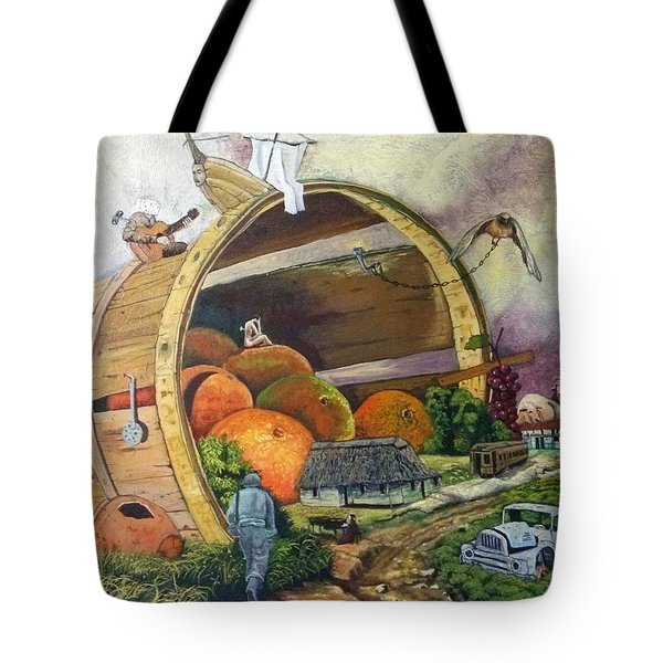 I Harvested Experience And Got Bitten Fruits Tote Bag