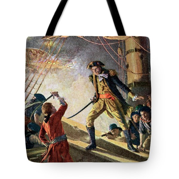 I Have Not Yet Begun To Fight Tote Bag
