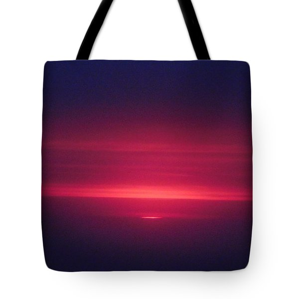 I Have Seen His Beauty In The Sunrise Tote Bag