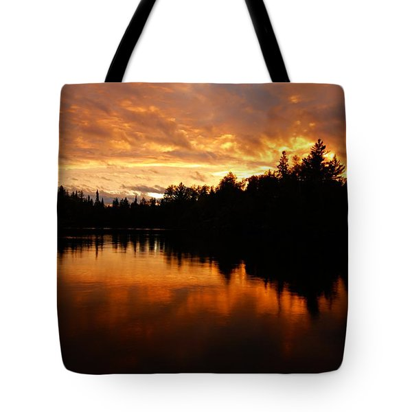 I Have Seen Stormy Days That I Thought Would Never End Tote Bag by Larry Ricker