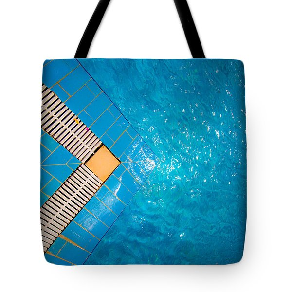 Tote Bag featuring the photograph I Have To Go In by Jez C Self